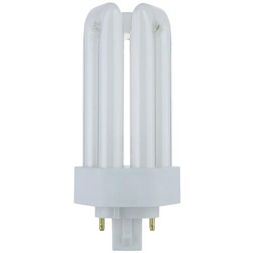 Pin Compact Fluorescent Plug In - Sunlite PLT18/E/SP35K 18-Watt Compact Fluorescent Plug-In 4-Pin Light Bulb, 3500K Color