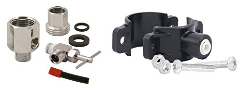 APEC Water Systems Replacement Feed Water Adapter & Drain Saddle Valve For Undersink System (MOVEKIT) Reverse Feed