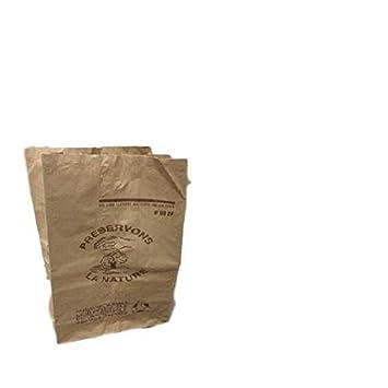 Paleta de 4500 bolsas de papel para compost (Biodegradable 60 L para basura orgánica en