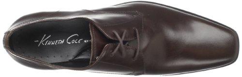 Kenneth Cole - Zapatos de cordones para hombre Marrón - marrón