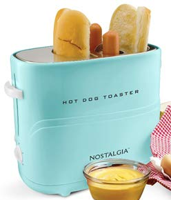 Nostalgia HDT600AQ Pop-Up Hot Dog Toaster (Aqua)
