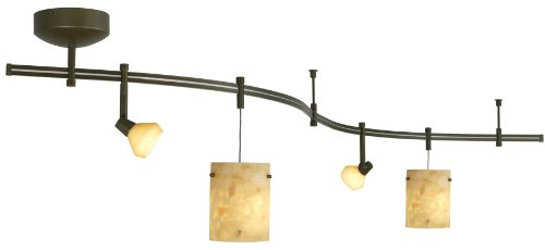 (Tiella 4 Light Decorative Flexible Track Light)