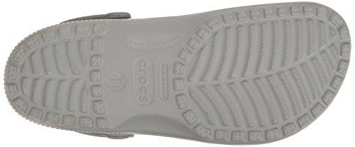 Crocs Classic, Zoccoli Donna Grigio (Light Grey)