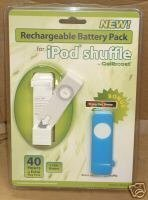 Rechargeable Battery Pack for iPod shuffle by Cellboost