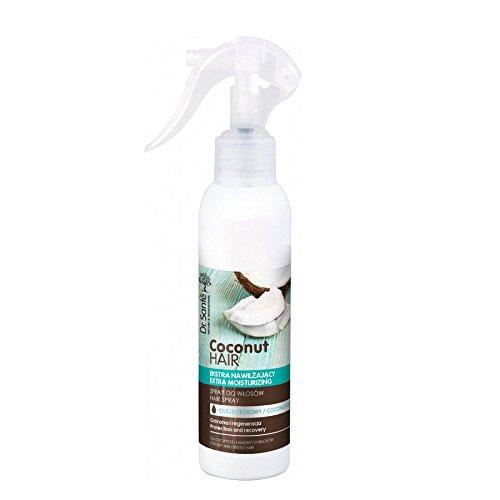 Serum en Spray Capilar Hidratante de Aceite de Coco para Pelo - Cabello Dañado Natural sin Parabenos Dr. Sante 150ml Dr Sante 8588006037654