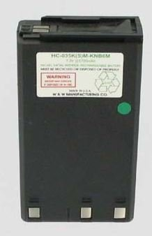 W&W Kenwood Replacement KNB6 NIMH High Capacity Portable Radio Battery fits: TH25AT TH26AT TH45AT TH46AT TH55AT TH75AT TH77AT TK220 TK240 TK240D TK320 TK330 TK330SP TK340 TK340D, 7.2 Volt, 2700 mAh W&W Manufacturing WWH-KNB6