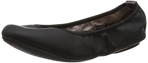 Flats Twists Sophia Black 173 Toe Butterfly Black Closed Ballet Women's FAZFBqPY