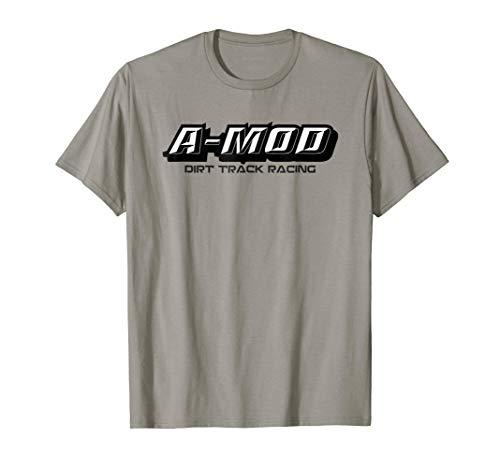 Dirt Track Racing Shirt A-Mod Racing Modified ()