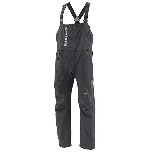 Simms Challenger Fishing Bib Overalls - Men's Waterproof Fishing Bibs - Breathable Adjustable Bib with Suspenders - Water Resistant Zippers - Hand Warmer Pockets from Simms