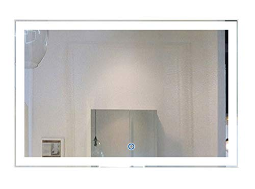 Wall Mounted Lighted Vanity Mirror Led in US - 7