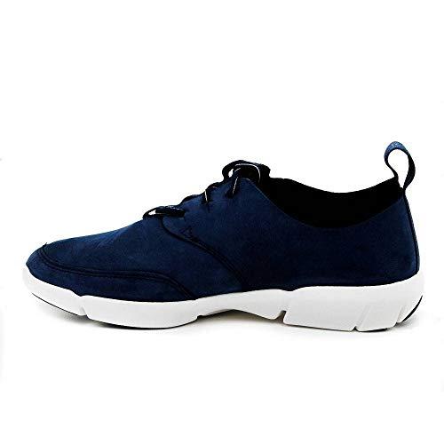 Azul Zapatillas Para Clarks Triflow Form Hombre xgZzqn6Xw1