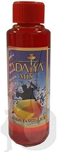 Melaza Adalya Mango Tango Ice para shisha SIN NICOTINA - Sabor: Mango, Maracuya y Menta (170 ml) - Sustitutivo de tabaco sin nicotina para cachimba
