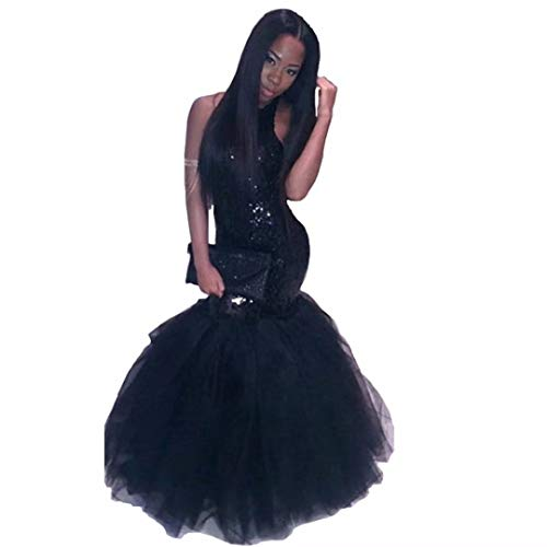 ins Mermaid Prom Dresses Tulle Ball Gown Long Evening Party Gowns ()