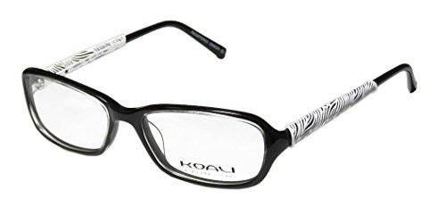 koali-7069k-womens-ladies-eyeglasses-eye-glasses-51-16-135-black-white