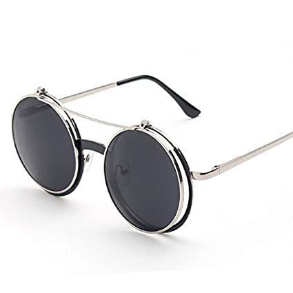 cd43802b21 Image Unavailable. Image not available for. Color  GMYANTYJ Sunglasses Retro  ...