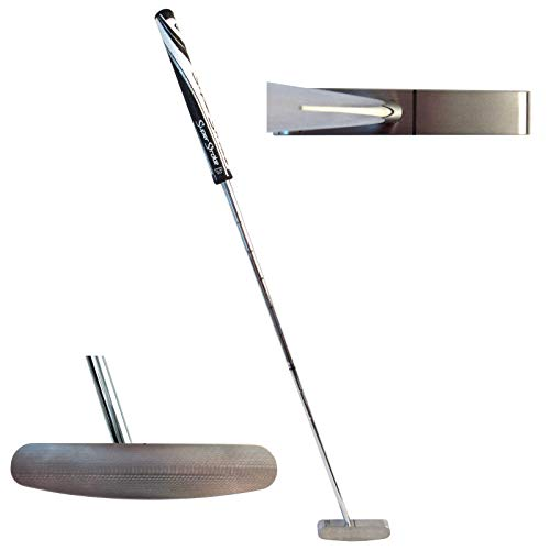 Bell Putters 2 Way Golf Putter 400g Toe Balanced with SuperStroke Mid-Slim Legacy 2.0 Putter Grip and 35