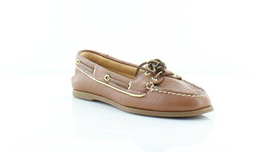 Sperry Top-sider Gouden Beker Audrey Womens Flats & Oxfords Tan / Gold