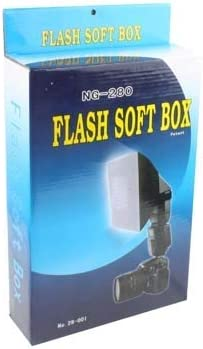 Camera /& Photo Folding Flash Soft Diffuser NG-280 280mm x180mm x120mm Black Camera /& Lighting