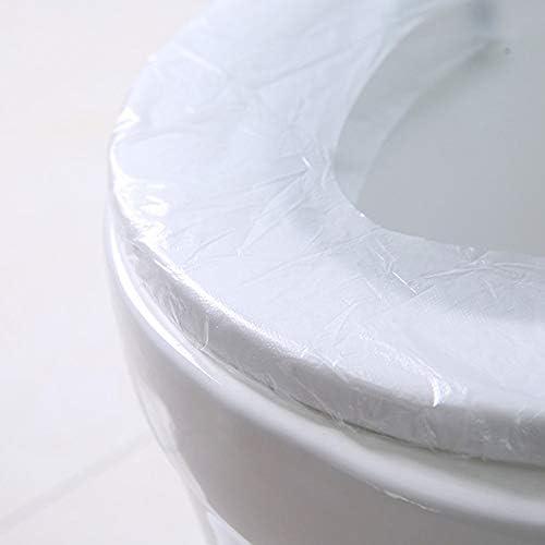 使い捨てトイレパッドホームトラベルビジネストイレ防水汚れた妊婦滅菌トイレ使い捨て便座 10ピース