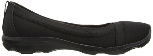 Crocs Bsydaystrtchflt - Bailarinas Mujer Nero (Black/Black)