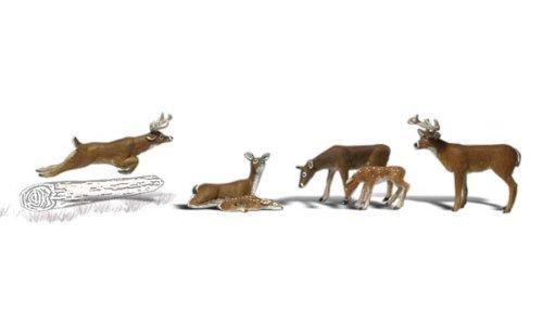 Ho Woodland Scenics Figures - 5