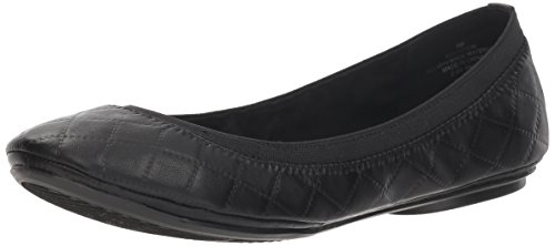 Bandolino Women's Edition Ballet Flat, Black/Multi Synthetic, 9 M US