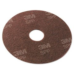 Surface Preparation Pad, 20'', Maroon, 10/Carton - 1 Count by 3M