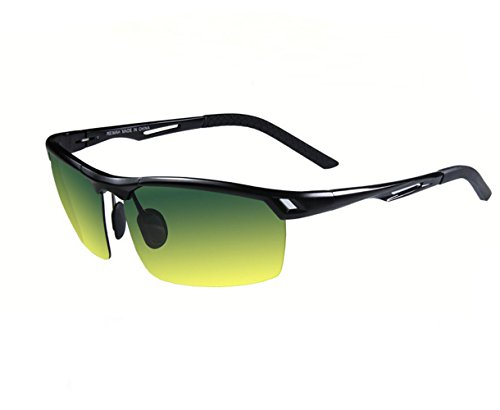 classic Day and night driving mirror polarized night vision - People On Bans Ray