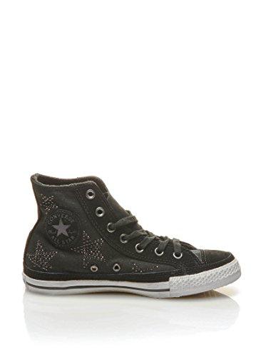 Converse Hightop Sneaker All Star Hi Text Studded Stars schwarz EU 37