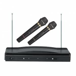 sc 900 professional wireless dual microphone system musical instruments. Black Bedroom Furniture Sets. Home Design Ideas