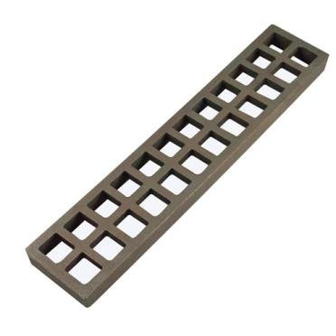 RDLR-02-A BOTTOM GRATE FOR 23 SERIES- 3'' X 15''