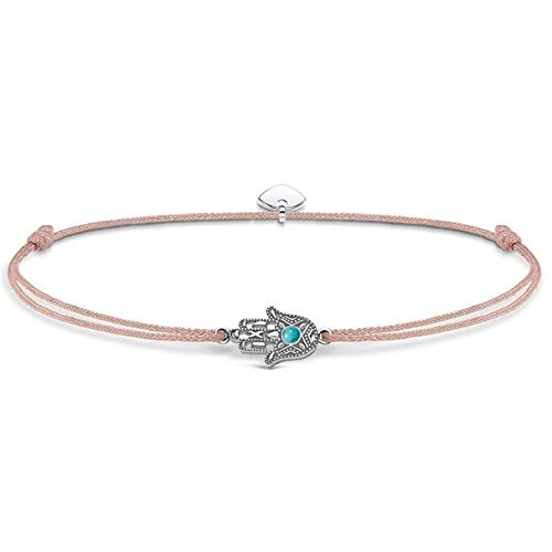 Thomas Sabo Damen-Fußkette Little Secret Fatimas Hand 925 Sterling Silber LSAK001-504-19-L27v