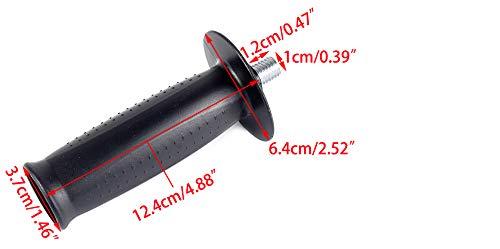 M12 Filetage M12 Poign/ée lat/érale en Plastique pour meuleuse dangle 230 Accessoires pour Outils /électriques Remplacement daccessoires