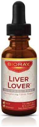 Herbal Liver Detoxifier and Regenerator by Bioray Liver Lover Supports and Nourishes the Liver and Adrenals, Improves the Body s Ability to Filter Toxins and more 2 fl oz