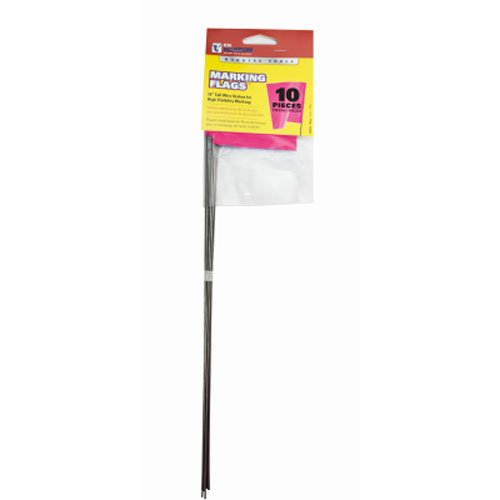 CH Hanson 15 in. Pink Fluorescent Marking Flags 10 pack