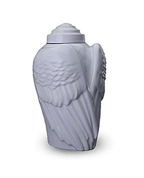 legendURN Urna Ceramica Alas de ángeles
