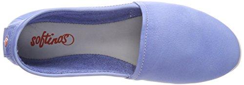 Softinos Damer Olu382sof Vaskede Lukkede Ballerinaer Blå (lavendel Blå) MayUu94