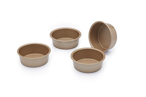 (Paul Hollywood By Kitchencraft Non-stick Mini Round Cake Tins, 6.5cm - Set Of)