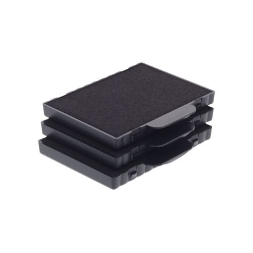 Trodat Replacement Ink Cartridge 6/511 - pack of 3 Color black