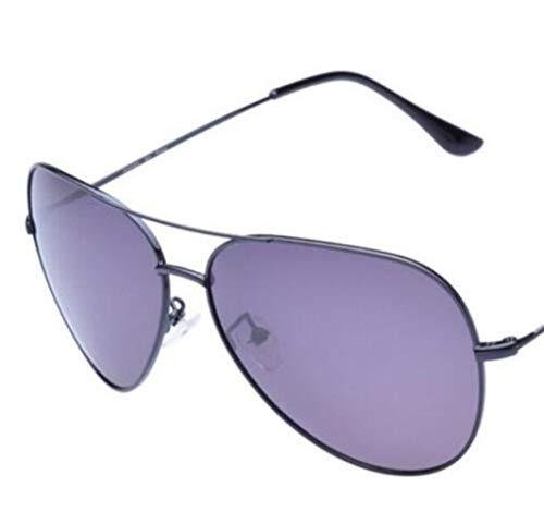 Black polarizadas de Gafas luz Marco Marco Hombres sol UV400 sol exteriores de metal Gafas Gafas de protectoras para Mujeres Moda para de los viajar hombres de qv674