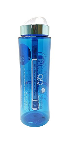 BlueQQ FDA Certified Premium Alkaline Mineral Water Ionizer Bottle, 700 ml