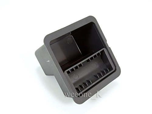 Interior Cup Holder Coin Case Storage Box Container Organizer In Gray Color For Isuzu D-max Dmax 2012 2013 2014 2015