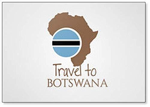 Travel to Botswana Fridge Magnet