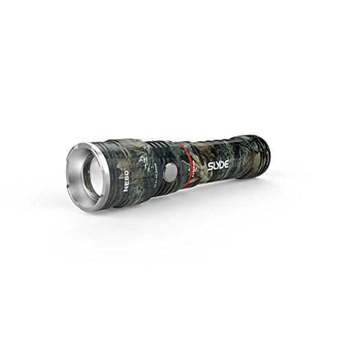Nebo 6643 Slyde King CAMO Slide Side COB LED Flashlight Rechargeable Magnetic 330 Lumen