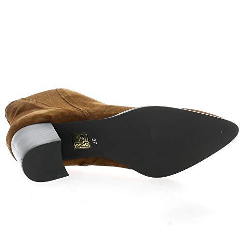 Pao Boots Boots Pao Velvet Cognac Leather Boots Leather Boots Cognac Cognac Velvet Leather Velvet Pao Pao zgwAnIg1