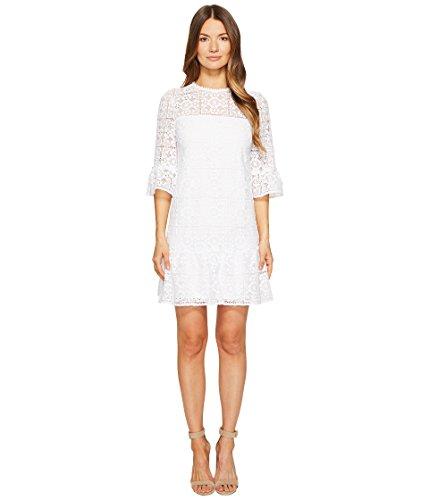 許さない形式教育者[ケイトスペード] Kate Spade New York レディース Lace Flounce Shift Dress ドレス [並行輸入品]