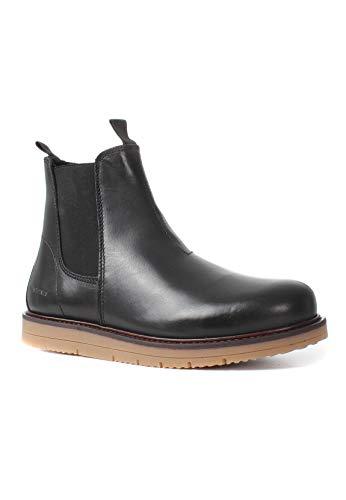 Black Femme TEN Schwarz Carina Boots POINTS 101 Chelsea SSI1Yq