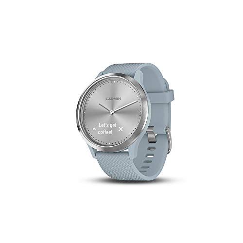 Garmin Vívomove Hr, Hybrid Smartwatch For Men & Women, Silversea Foam