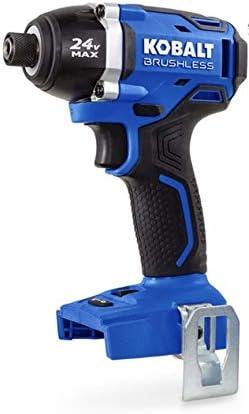 Kobalt 24 volt Impact Driver Brushless 1 4 inch 324B-03
