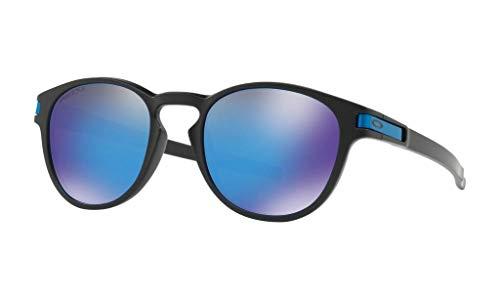 Óculos Oakley Latch - Prizm Sapphire - Matte Black